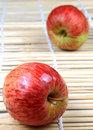 Kashmir apples Royalty Free Stock Photos