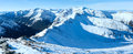 Kasprowy Wierch  in the Western Tatras. Winter view. Royalty Free Stock Photo