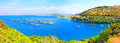Kassiopi Beach, Corfu, Greece Royalty Free Stock Photo