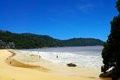 Kata noi beach s shoreline wonderful view of phuket thailand Royalty Free Stock Photography