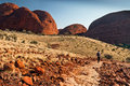 Kata Tjuta the Olgas. Northern Territory, Australia Royalty Free Stock Photo