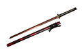 Katana Japanese sword and scabbard Royalty Free Stock Photo