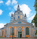 Katarina church stockholm sweden october kyrka is one of the major churches in central city district the sofia borough on Stock Photography