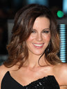 Kate beckinsale arriving for the total recall premiere at vue west end leicester square london picture by alexandra glen Stock Photo