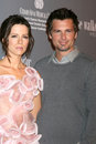 Kate Beckinsale,Len Wiseman Royalty Free Stock Photo