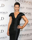 Kate beckinsale underworld evolution world premiere cinerama dome los angeles ca january Stock Images