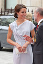 Kate Middleton Foto de Stock Royalty Free