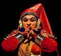 Kathakali Dance in Kerala, India Royalty Free Stock Photo