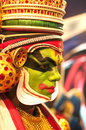 Kathakali dancer Stock Image
