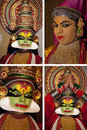 Kathakali Dancer - Cochin in India Stock Photo