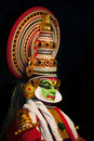 Kathakali orippurathu bhagavathy temple thattayil april actor in orippurathu bhagavathy temple on april in thattayil kerala south Stock Photos