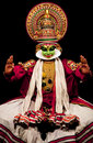 Kathakali performer Royalty Free Stock Images
