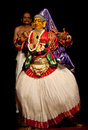 Kathakali performer Stock Photos