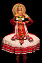 Kathakali performer in India Stock Photography