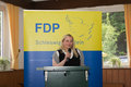 Katharina weinert parliamentary candidate gives a speech Stock Photo