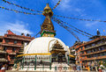 Kathesimbhu stupa kathmandu nepal yethkha baha is the most popular tibetan pilgrimage site in the old town of located near thamel Stock Image