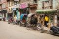 Kathmandu nepal march the streets of kathmandu on march in street life in capital Stock Image