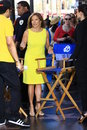 Katie couric in hollywood comes to Stock Photo