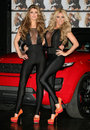 Katie Price, Amy Willerton Stock Image