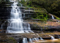 Katoomba Falls in Blue Mountains Australia Royalty Free Stock Photo