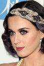 Katy Perry arrives at the City of Hope's Music And Entertainment Industry Group Honors Bob Pittman Event Stock Photo