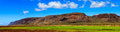 Kauai farmland panorama near the napali coast in hawaii islands Stock Photo