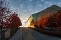 Kauffman Center for the Performing Arts in Kansas City Missouri. Royalty Free Stock Photo