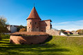 Kaunas castle built during the mid th century in the gothic style lithuania Stock Photo
