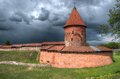 Kaunas castle tourist attraction in lithuania Stock Photos