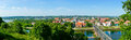 Kaunas old town day time landscape lithuania Royalty Free Stock Photo