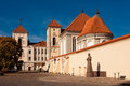 Kaunas priest seminary church of holy trinity in is a part of the a monument to motiejus valančius is visible Royalty Free Stock Photos