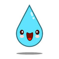 Kawaii nice shy drop water