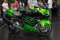 Kawasaki motorcycle new model presented in Motor Show