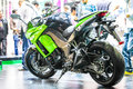 Kawasaki Z 1000sx Royalty Free Stock Photo