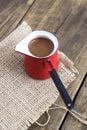 Kawowy garnek Zdjęcia Royalty Free