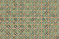 Kawung Batik Pattern - cotton Royalty Free Stock Image