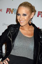 Kaya jones at the friends and family grammy event paramount studios hollywood ca Stock Photo