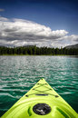 Kayak on Lake Royalty Free Stock Photo
