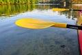 Kayak Paddle Royalty Free Stock Photo