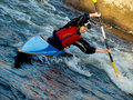Kayaker Royalty Free Stock Photo