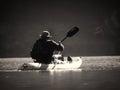 Kayaking Away