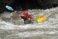 Kayaking in indonesia the grade iv stream of serayu river banjarnegara central java Stock Images
