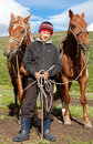 Kazakh boy Royalty Free Stock Photography