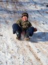 Kazakh child Royalty Free Stock Photography