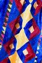 Kazakh patchwork blanket Royalty Free Stock Photos
