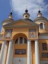 Kazan cathedral of the holy dormition monastery vyshenskaya russia Royalty Free Stock Photos