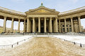 Kazan cathedral saint petersburg or kazanskiy kafedralniy sobor in Stock Photo