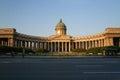 Kazan Cathedral, Saint-petersburg, Russia Royalty Free Stock Photo