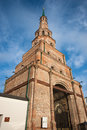 Kazan kremlin soyembika tower in the of tatarstan russia Stock Images