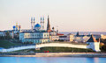 Kazan, Republic of Tatarstan, Russia. View of the Kazan Kremlin Royalty Free Stock Photo